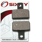 Rear Organic Brake Pads 2011 Scorpa Sy 250 FR Set Full Kit  Complete cb