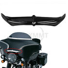 Motor Black Bat Brow Fairing Accent For Harley Tri Glide Ultra Classic FLHTCUTG