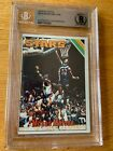 1975-76 Topps #254 Moses Malone Rookie Signed Auto Deceased