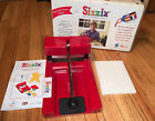 Sizzix Original Provo Red Die Cut Machine Personal Die Cutter Cutting Pad