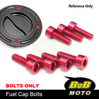 CNC Fuel Gas Cap Bolts Fit Adventure 990 S/R All Years 1050 Adventure 13 14 15