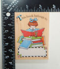 All Night Media Mary Engelbreit Ink Reading Bookplate Rubber Stamp 590H