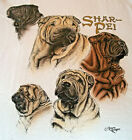 Shar Pei T shirt  Natural  SM  34 36
