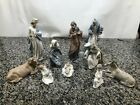 Nao by Lladro 10 piece Nativity Set  Perfect Condition