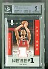2006 HOT PROSPECTS MEMORABILIA YAO MING WE'RE #1 RED HOT RARE SSP 25 BGS 9 MINT