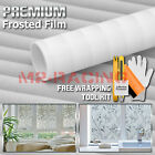 Frosted Film Glass Home Bathroom Window Security Privacy Sticker 5018