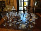 8 Wine Butterfly Flower Decorated glasses 220bfdg