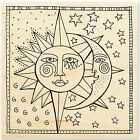 Celestial Stars LAUREL BURCH Wood Mounted Stamp STAMPENDOUS New LBW002
