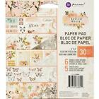 Apricot Honey Collection Scrapbooking 6x6 inch Paper Pad PRIMA 638894 NEW