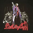 Rare Vintage Devil May Cry Video Game Capcom Promo 2 sided T Shirt XL 2001 PS2