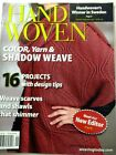 Handwoven magazine jan feb 2012 weave scarves and shawls that shimmer