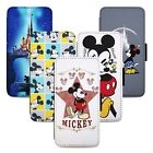 Mickey  Minnie Mouse Flip Phone Case Cover Wallet Fits Samsung S8 S9 S10 Note
