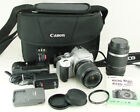 Canon EOS Rebel XTI EOS 400D Digital Camera 2 lens Digipower Battery Grip