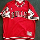 Fully Authentic Mitchell and Ness Chicago Bulls Shooting Jersey 1987-88 Bulls