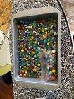 Vintage Estate Glass Marbles Very Old 250 Lot