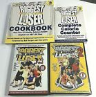 The Biggest Loser Exercise DVDs Volume 1  2 Cookbook  Calorie Counter Books