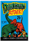 1988 Topps Dinosaurs Attack Trading Cards 13