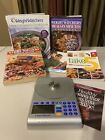 HUGE WW Weight Watchers Lot Kit Cookbooks Scale And Welcome Book Diet Lifestyle