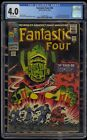 Fantastic Four 1961 49 CGC 40 Blue Label Off White Pages 1st Full Galactus