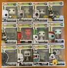 Funko Pop! Disney Nightmare Before Christmas Set Of 12 Hot Topic Exclusives New
