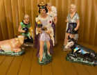 LOT OF 6 Vtg HOLLAND MOLD Nativity Scene FIGURINES Absolutely Breathtaking