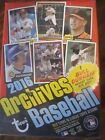 2 Factory Sealed Blaster Box Lot - 2016 Topps Archives Baseball Cards