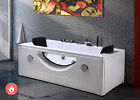 Whirlpool bathtub hydrotherapy hot tub 2 person HARMONY double pump and heater