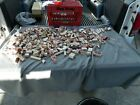 Mounted Rubber Stamps Lot Of 371 Some New Some Used Estate Find