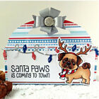 Merry Christmas Santa Paws Clear Stamps Silicone Scrapbooking Album Clear Stamp