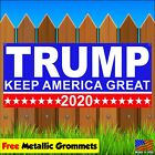 Trump Keep America Great 2020 Vinyl Banner Flag Sign With Grommets Many Sizes