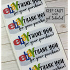 50 EBay Thank You Stickers Labels