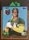 Jose Canseco Cards, Rookie Cards and Autographed Memorabilia Guide 8