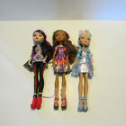 lot of 3 ever after high dolls raven queens cedar wood and darling charming
