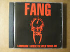 FANG - Landshark / Where The Wild Things Are (1995 CD) Black Flag, Dead Kennedys