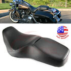 Rider Driver Passenger Seat 2Up For Harley Touring Road King FLHR FLHP 1997 2007