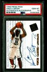 Vince Carter Cards and Autographed Memorabilia Guide 35