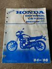 HONDA CB700SC NIGHTHAWK 'S' 1984 1985 1986  OEM FACTORY SHOP SERVICE MANUAL