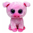 Excellent! Rare Ty Beanie Boos Corky The Pig Piglet 6