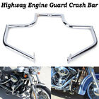 Chrome Engine Guard Highway Crash Bar For Harley 00-17 Heritage Softail Fat Boy