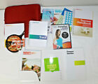 Weight Watchers Lot 2012 Points Plus Tracker DVD books 360 handbook Red case