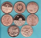 DONALD TRUMP  8 Coin SET  1 oz. Copper Rounds  2020 TRUMP / PENCE SERIES