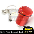 For Monster 620 2003-2006 Red Racing CNC Rear Brake Fluid Reservoir Tank