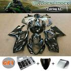 Black Fairing Kit for Suzuki GSX-R GSXR 1000 2007-2008 Bodywork Injection +Bolts