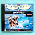 Status Quo Whatever You Want/Just Supposin German CD NEW Andy Bown The Spectres