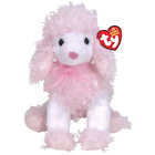 New! Rare Ty Beanie Babies Baby Divalightful White Pink Poodle Dog 6