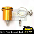 For Kawasaki Z750S 2004-2005 Gold Racing CNC Rear Brake Fluid Reservoir Tank