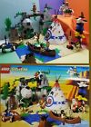 Lego 6748 Western Indian BOULDER CLIFF CANYON Complete  manual Native American