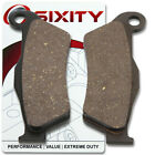 Front Organic Brake Pads 2004 ATK 620 Intimidator Set Full Kit 2T Complete mx
