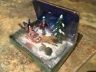 Lemax Rover Takes Charge-kids on sled -Holiday Village table accent