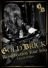 GOLD BRICK RESURRECTION TOUR 2019 AKIRA KAJIYAMA BLU-RAY AND 2 CD SET Rock Album